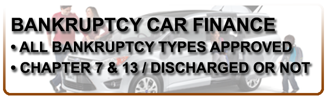 Bankruptcy Car Finance